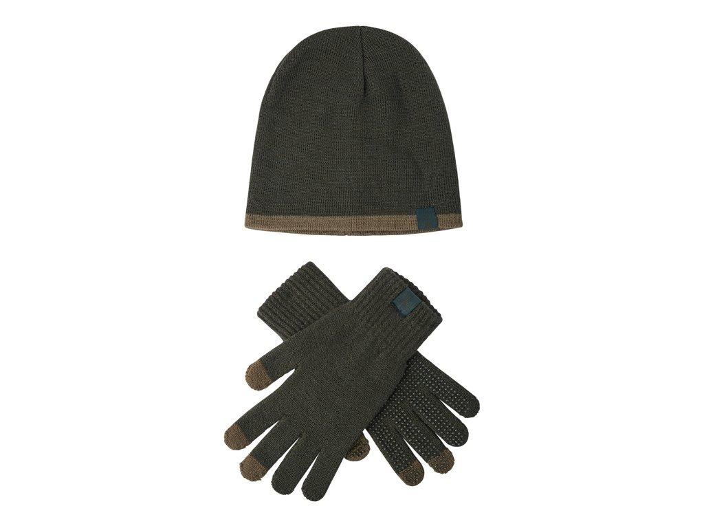DH set čepice+rukavice