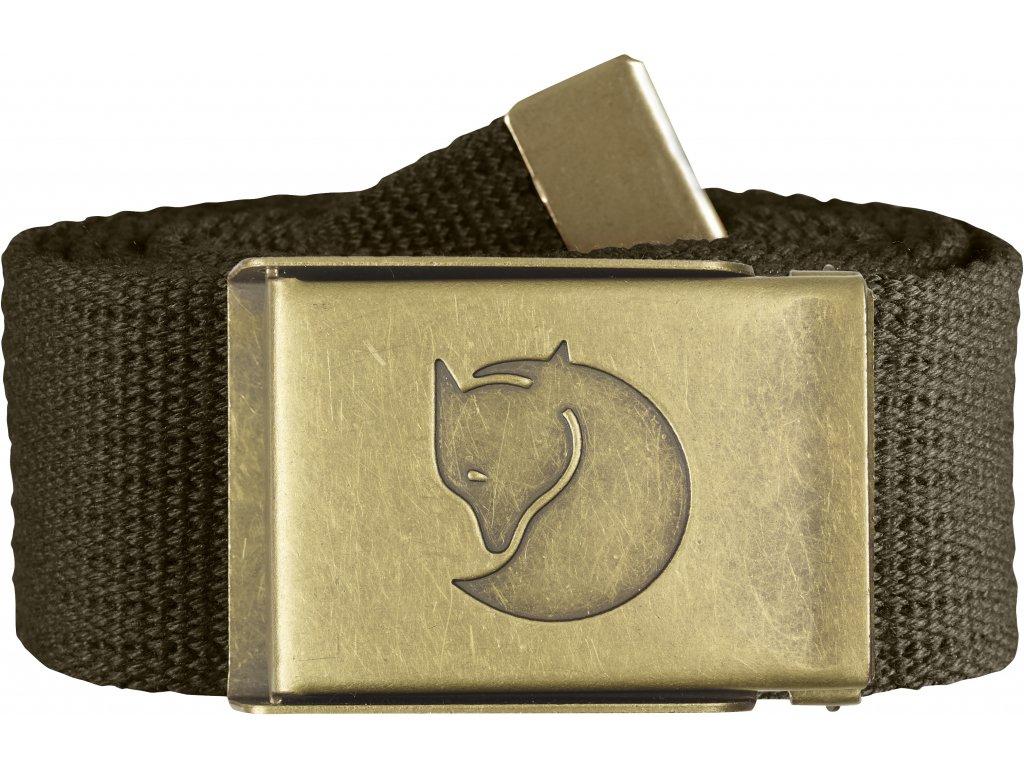 FR pásek Brass Belt 4cm Dark Olive