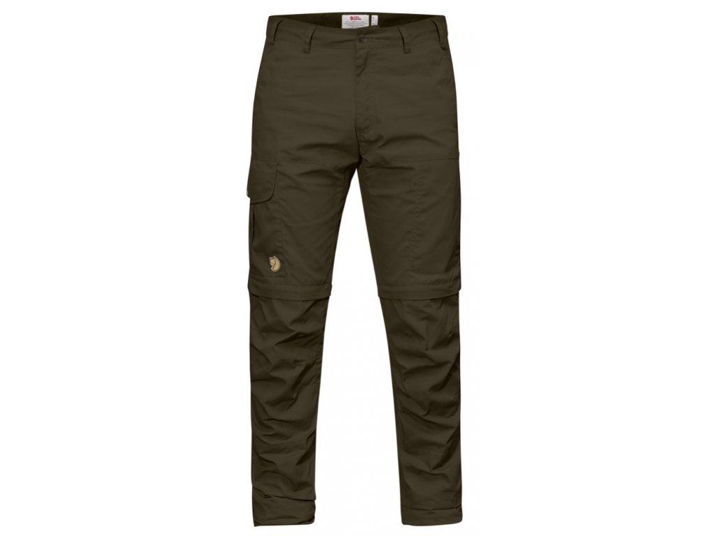 Kalhoty Karl Pro Zip-off Dark Olive