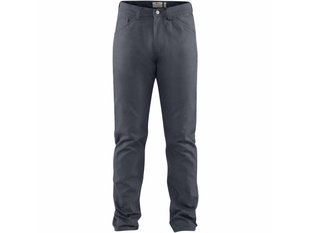 Fjällräven kalhoty Greenland Canvas Jeans Dusk