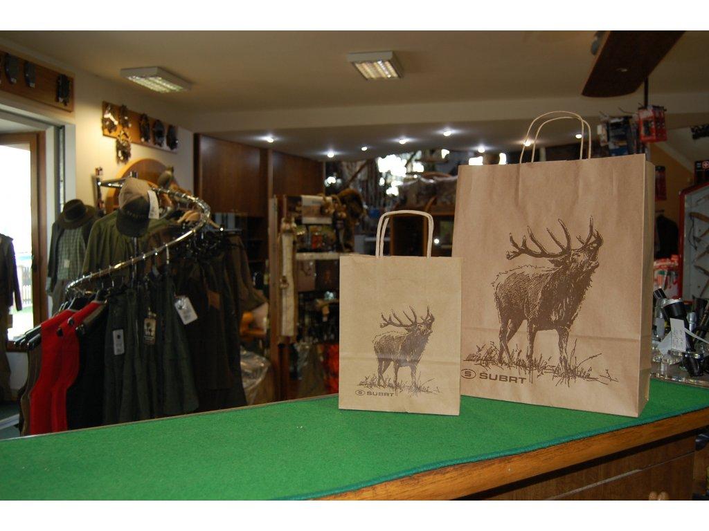 Taška dárková jelen malá