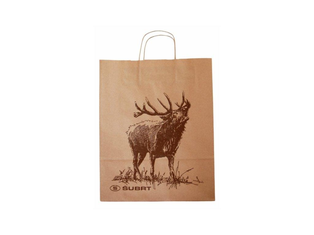 Taška dárková jelen velká