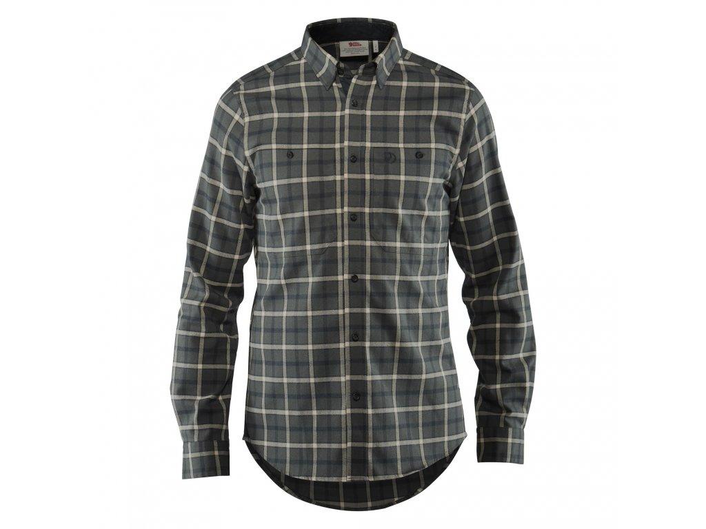 Fjällräven košile Fjällslim grey