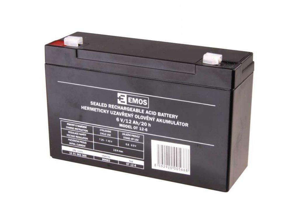 Baterie 6V 12Ah k fotopastem