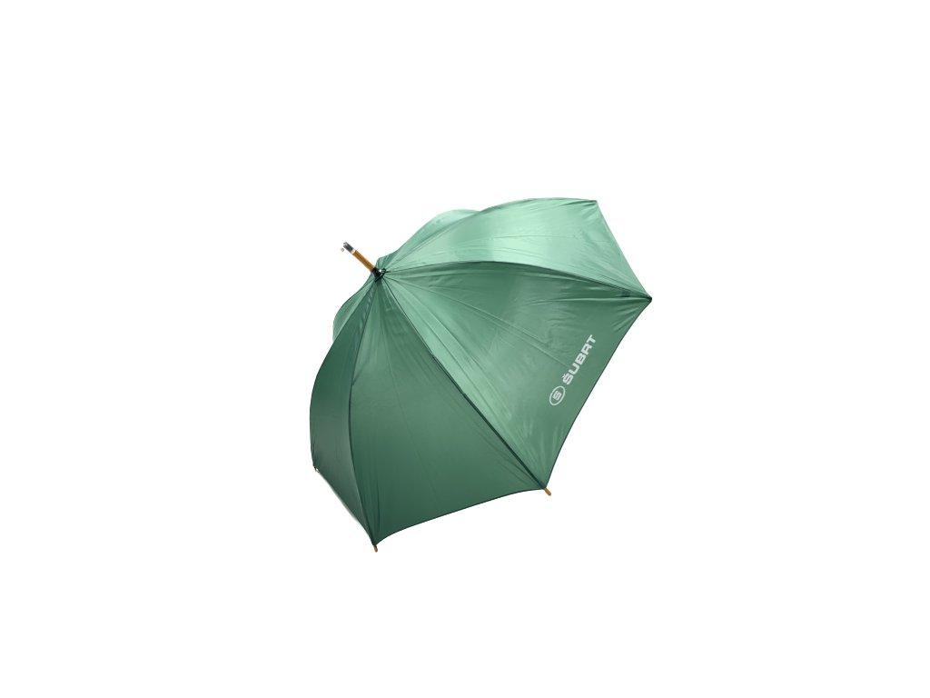 Deštník zelený s logem