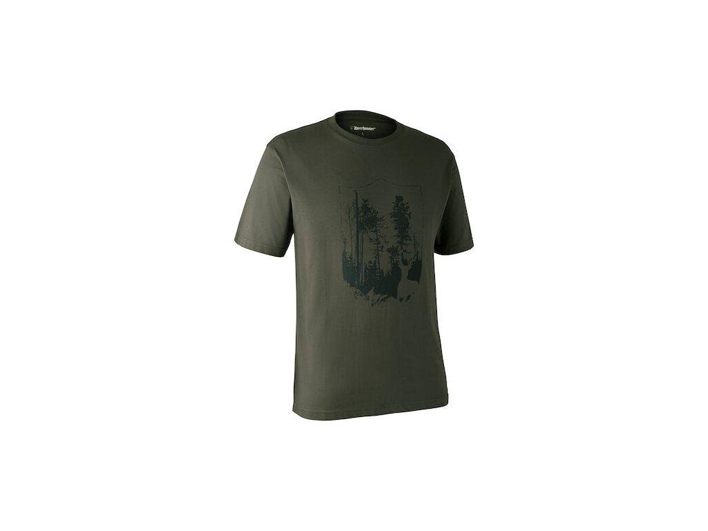 Deerhunter triko with Shield