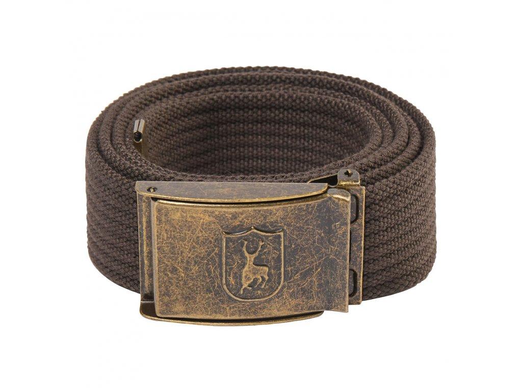 Deerhunter pásek Canvas belt 4cm/130cm hnědý