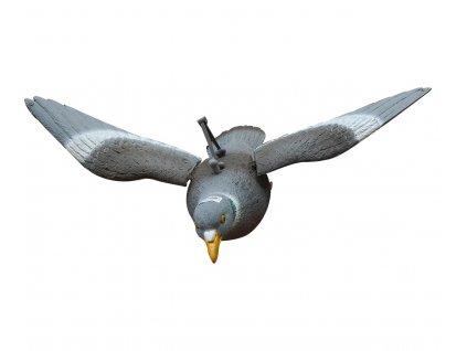 bal.holub-létací ,tělo+křídla+úchyt na kolotoč+ tyčka do země FL210FB