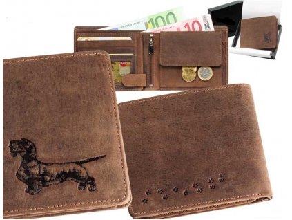 peněženka MZ šířka- Jezevčík 4