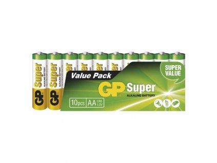 Baterie AA alkalicka Super 10ks