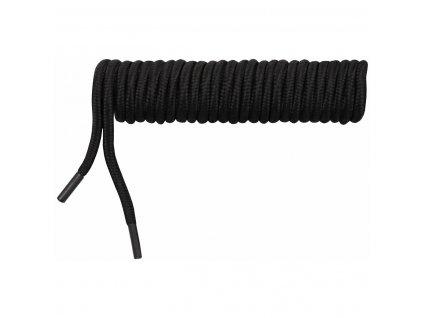 Tkaničky 180cm černé kulaté