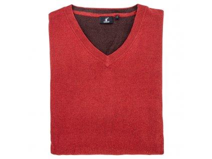 Stagunt svetr Mallard červený
