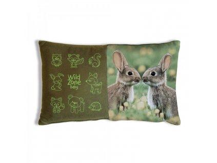 Wildzone polštář králíci