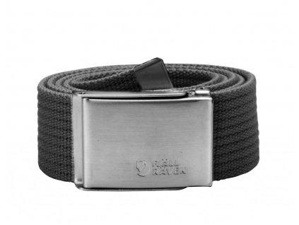Fjällräven pásek Canvas belt Dark Grey