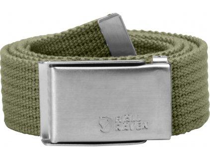 Fjällräven pásek Canvas belt Green