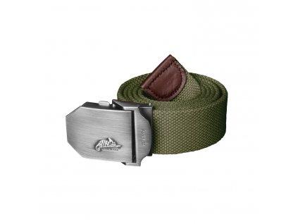 Helikon pásek Logo Belt černý zelený