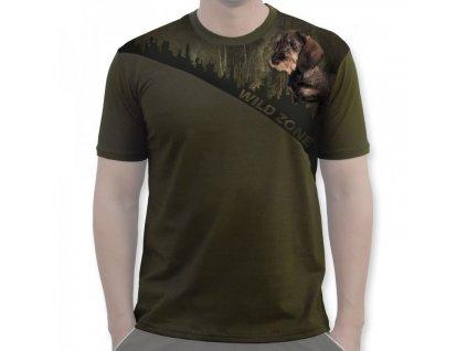 WildZone triko zelené jezevčík