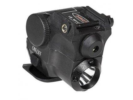 Laserový zaměřovač (5mWGreen) Firefield + svítilna 180Lumen COMBOFF25002