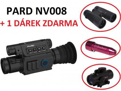 PARD NV008P - puškohled den/noc + ZDARMA dárek dle výběru