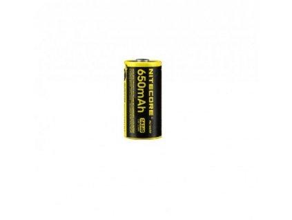 baterie CR123A nabíjecí NITECORE NL1665R poškozený obal