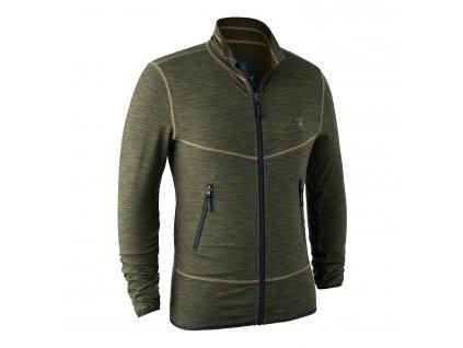 Deerhunter mikina Norden Insulated fleece zelená