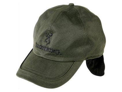 Čepice Browning zelená voskovaná