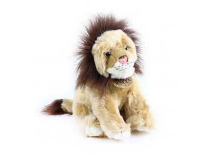 plyšák lev sedící 20cm