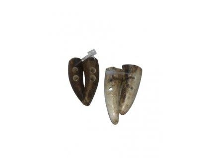 Knoflík oringle - půlené pár