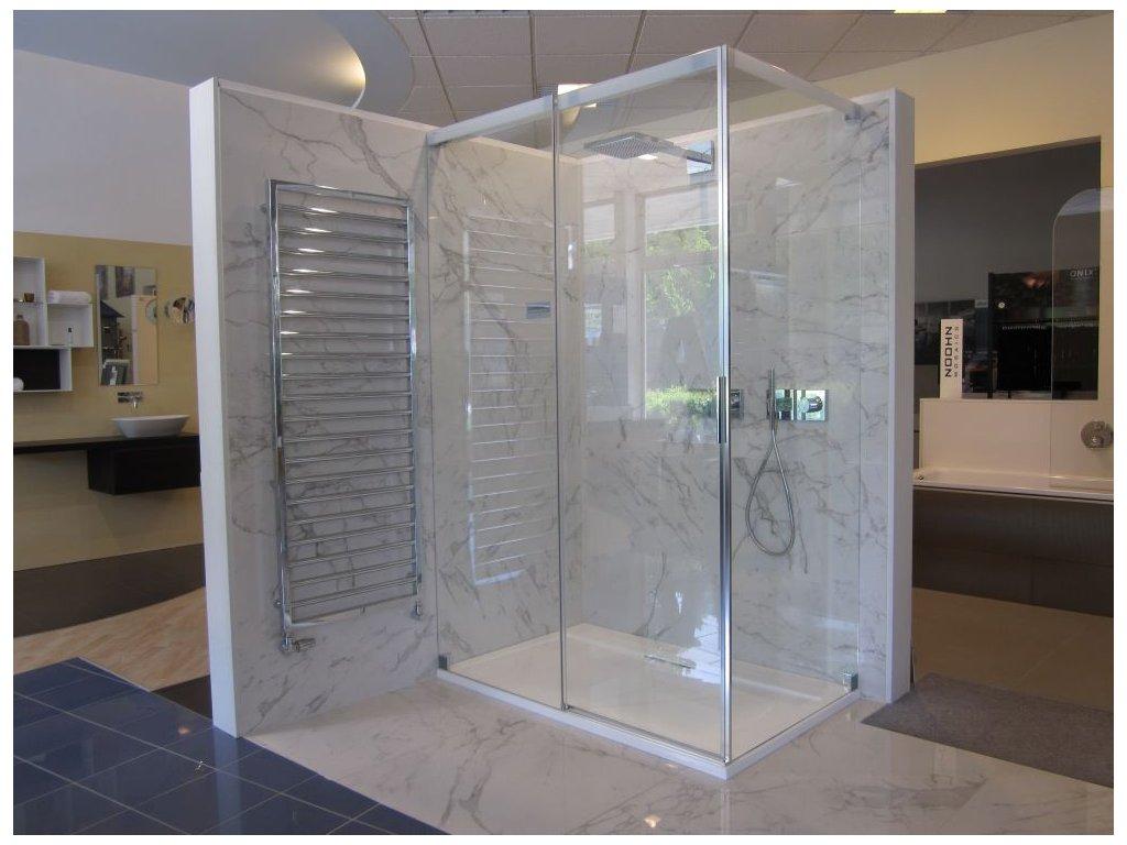 Aqua 5000 posuvné dveře s bočním dílem 140x90 cm