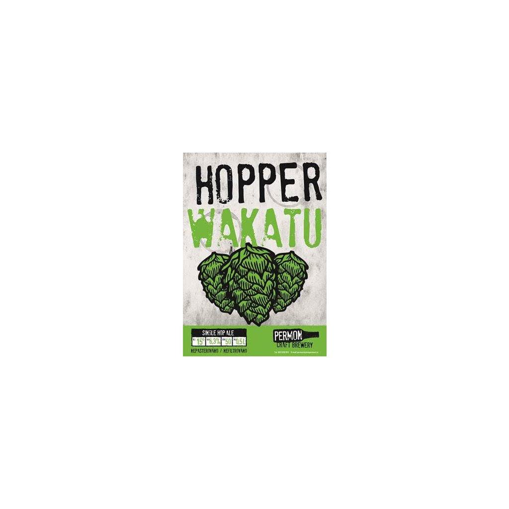 Permon HopperWakatu Etiketa