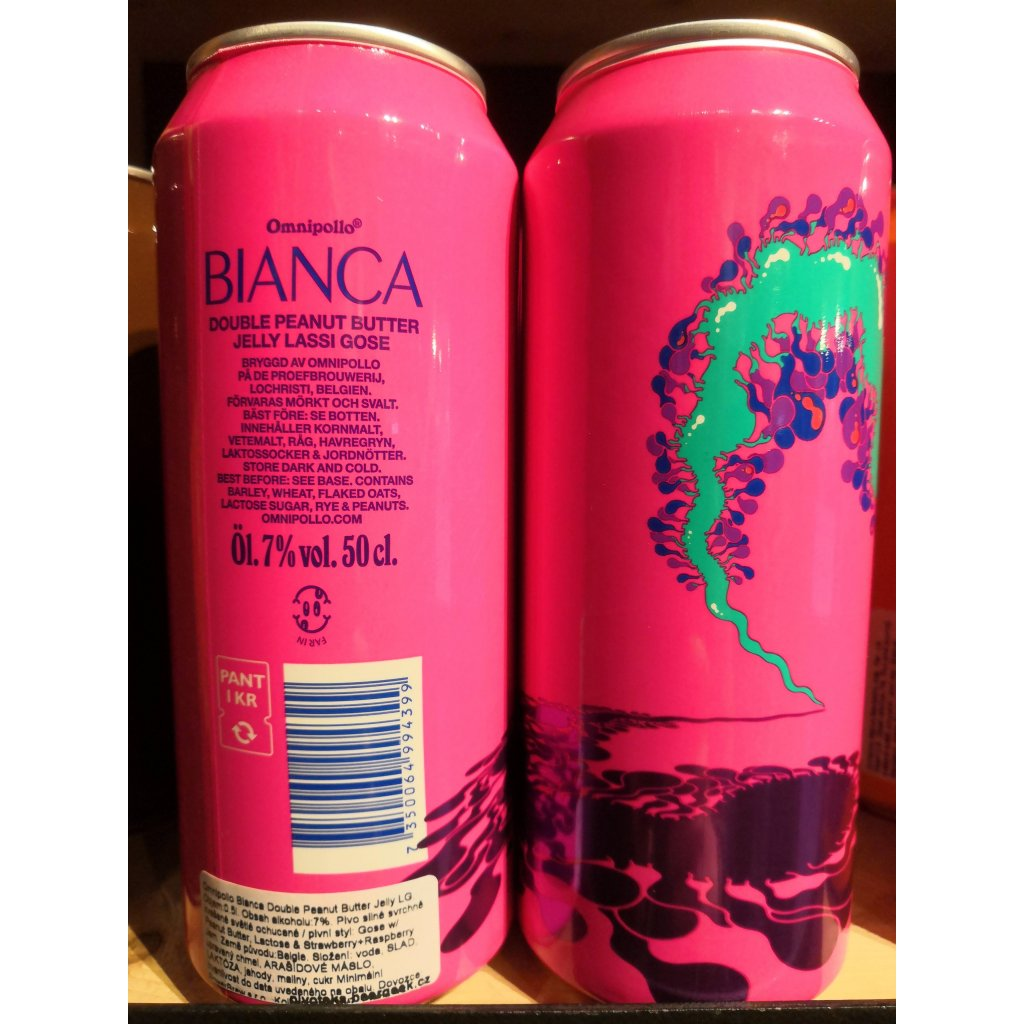 Omnipollo Bianca Double Peanut Butter Jelly Lassi Gose 500