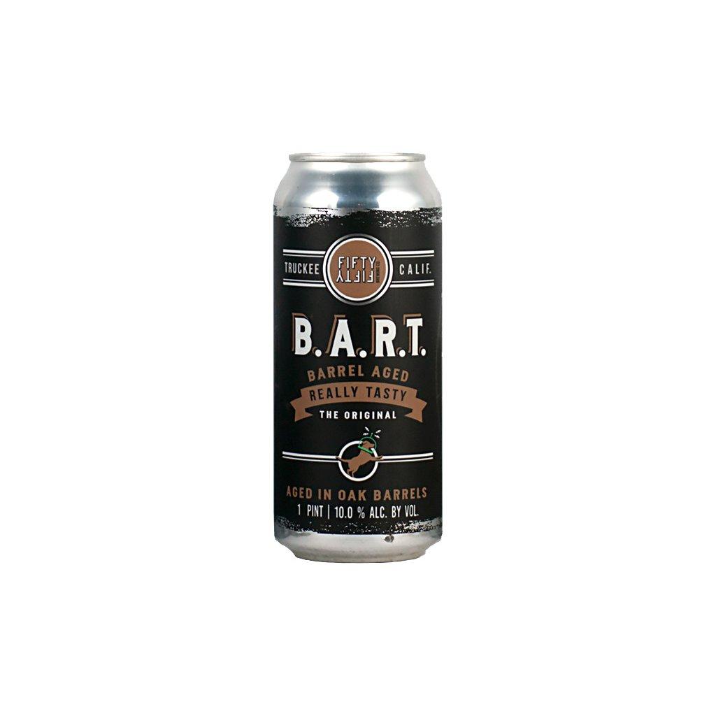 FiftyFifty B.A.R.T. barrel aged really tasty the original aged in oak barrels 1 PINT 10.0% ALC. BY VOL
