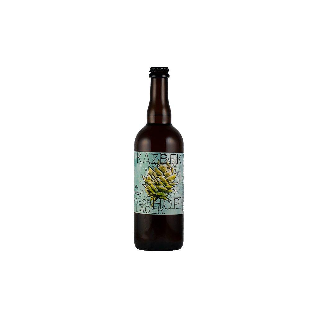 kazbek fresh hop lager