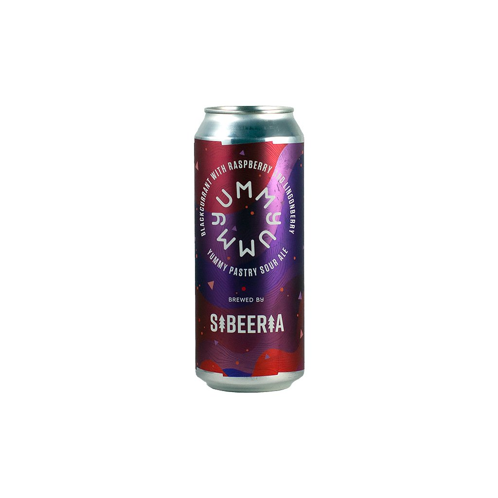 Sibeeria YUMMY blackcurrant with raspberry and lingonberry