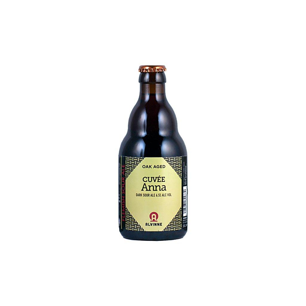 alvinne oak aged cuvee Anna dark sour