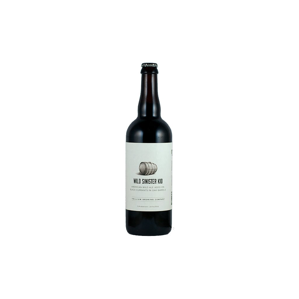 Trillium Wild Sinister Kid Black Currant 0,75l  Barrel Aged American Wild Ale w/ Black Currants