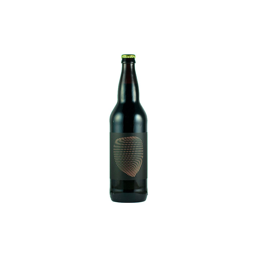 barrel aged hazelnut imperial stout with cocoa nibs