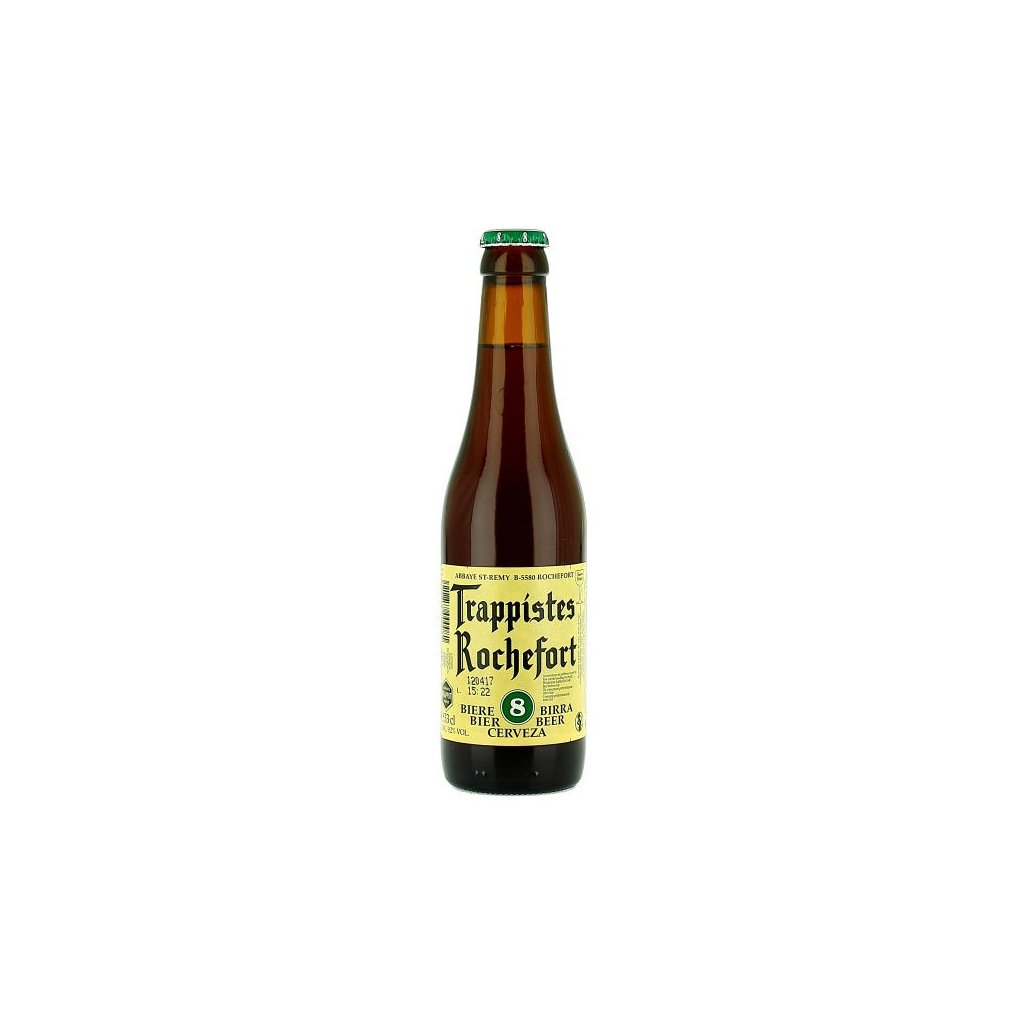 Rochefort Trappistes 8 0,33l  Belgian Dark Strong Ale