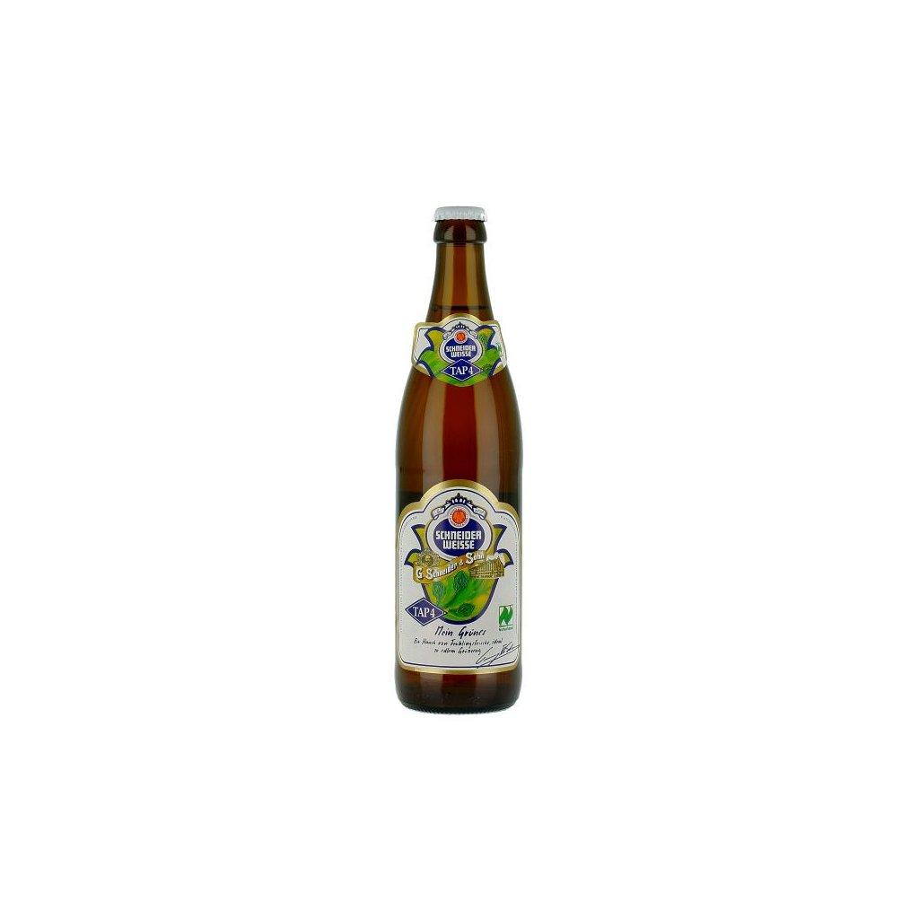 Schneider Weisse TAP 4 Mein Grünes 0,5  Weissbier