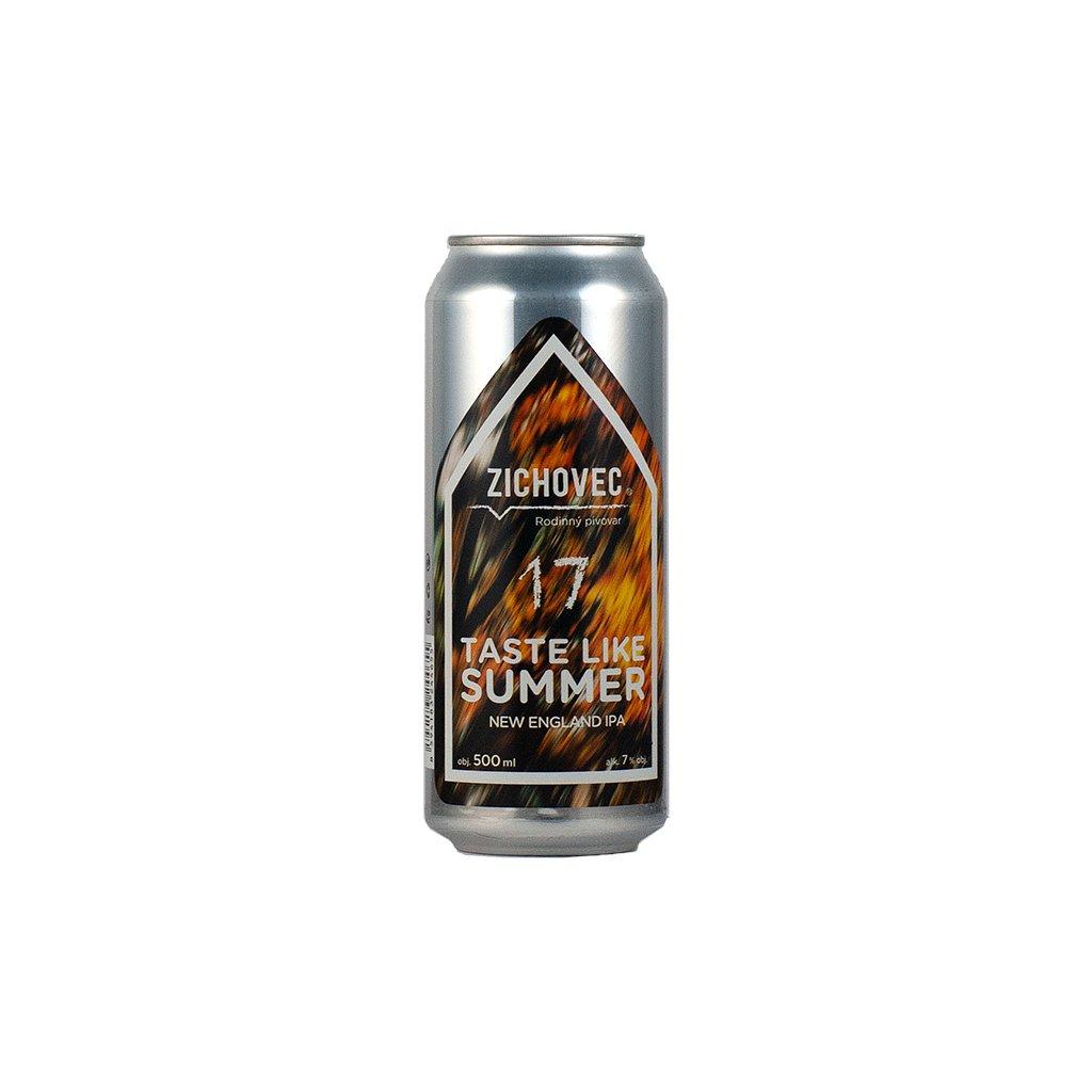 zichovec 17 taste like summer