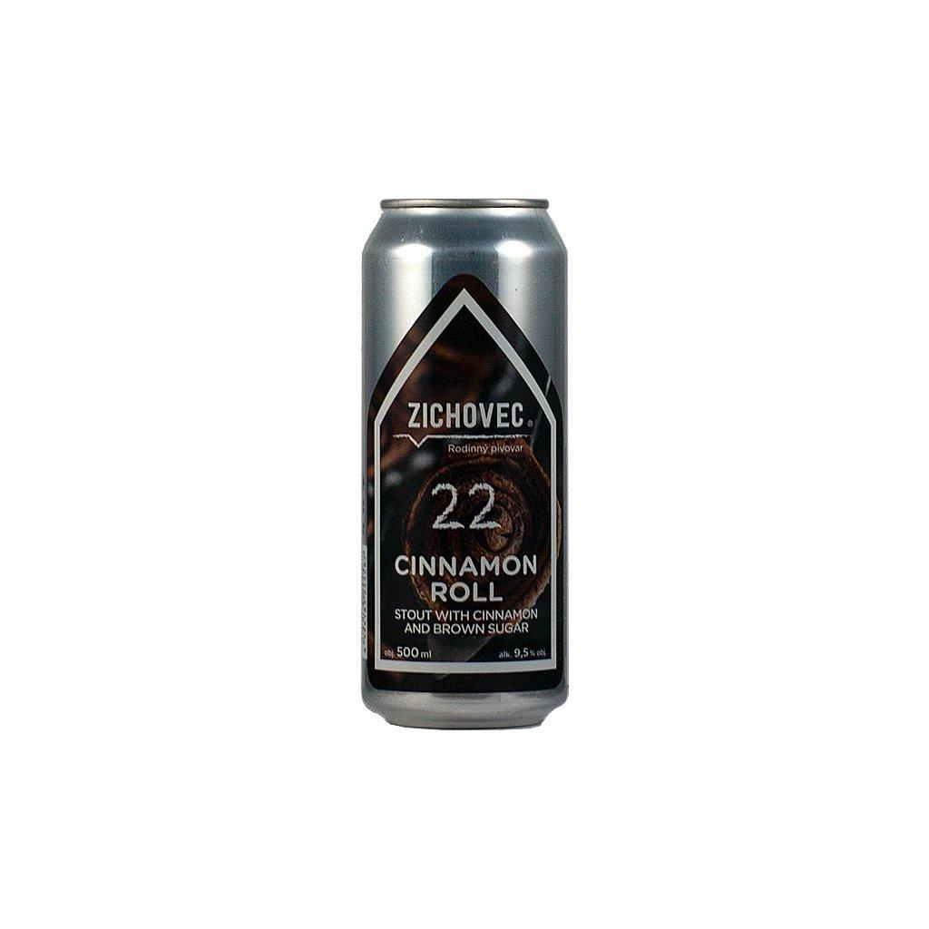 zichovec 22 cinnamon roll