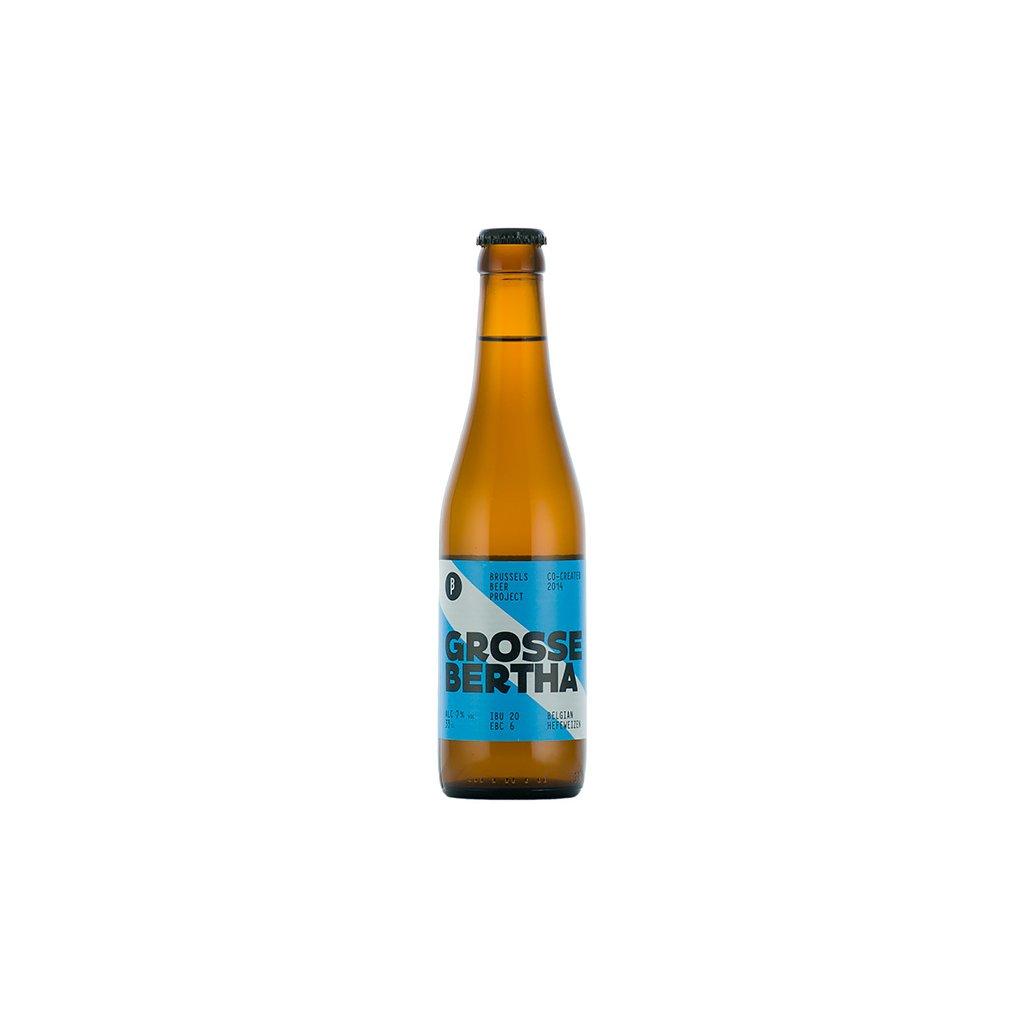 Brussels Beer Project Grosse Bertha 0,33  Pšeničné pivo