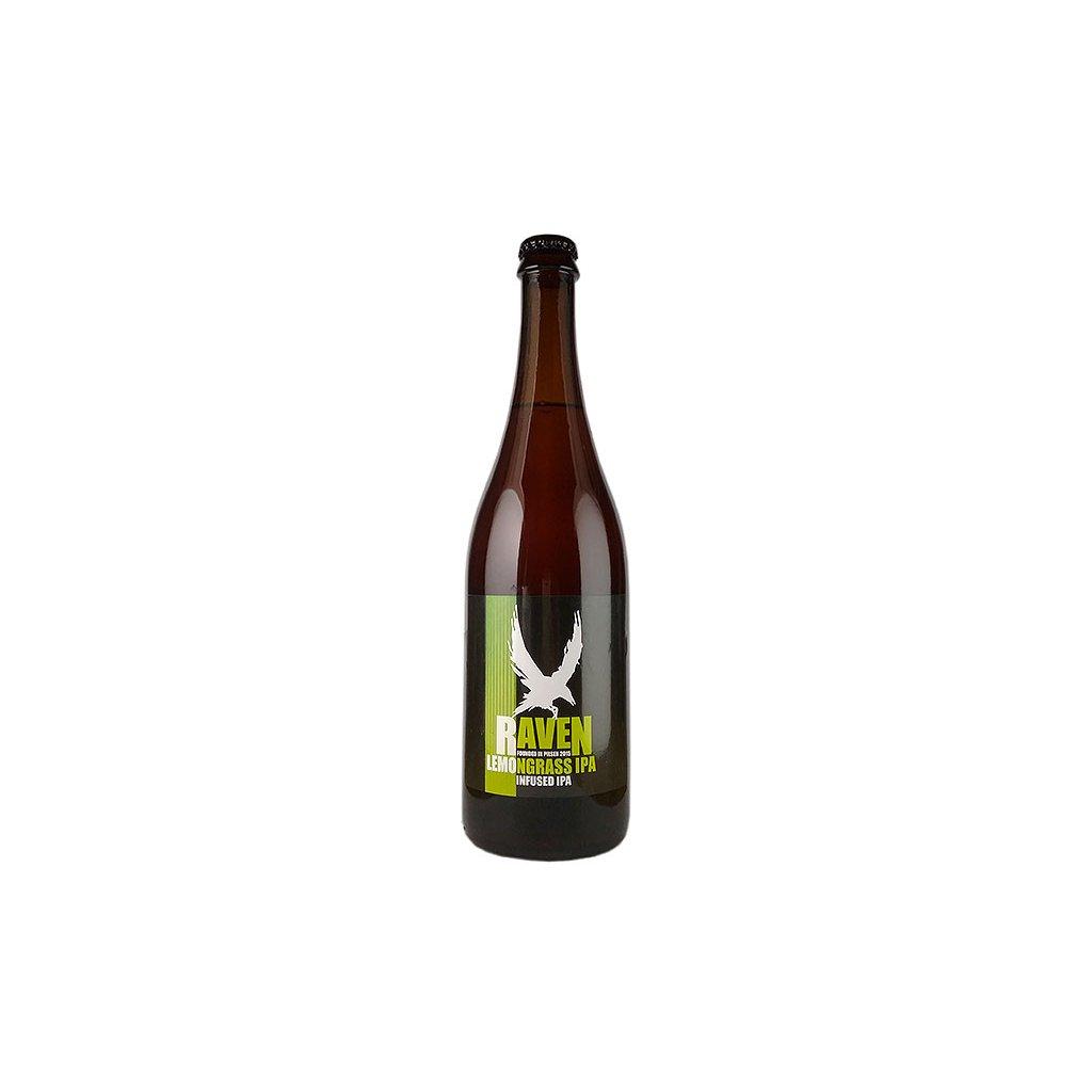 Raven Lemongrass IPA 0,7l  infused IPA