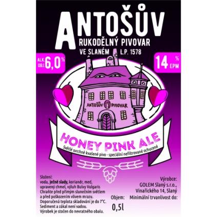 Antos HoneyPinkAle