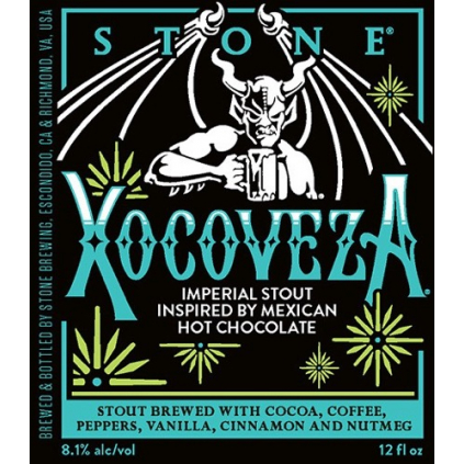 Stone Xocoveza2019 330 can label