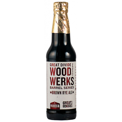 Great Divide WoodWerks #3 Brown Ale 0,355l  Bourbon Barrel Aged Brown Rye Ale
