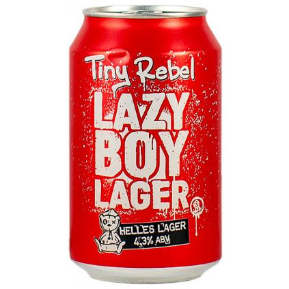 TinyRebel LazyBoyLager 330