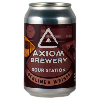 Axiom SourStation RaspberryBerlinerWeisse 330