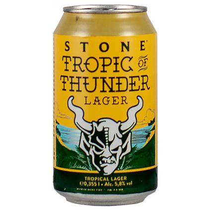 Stone TropicThunder HoppyLager 330