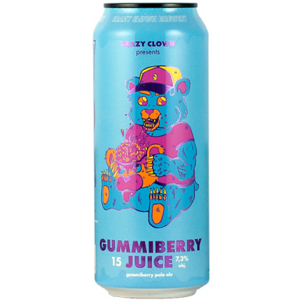 Crazy Clown Gummiberry Juice 0,5  Pale Ale w/ Gummybears
